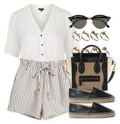 """Style #10523"" by vany-alvarado ❤ liked on Polyvore featuring Topshop, ASOS, Chanel and Ray-Ban"