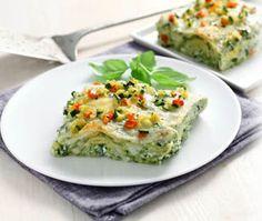 Lasagne in ratatouille