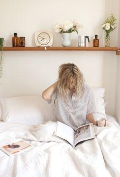 Una pijama de #algodón para volver de vacaciones y descansar en casa los últimos días antes de retomar nuestras actividades