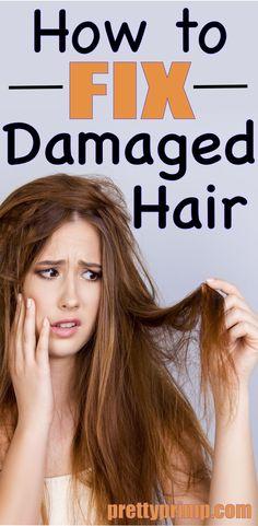 Hair masks to repair and treat damaged hair. These hair masks make a great remedy for damaged hair.