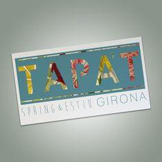 Tapa't primavera - estiu #designgirona #tapat #girona #disseny #creació