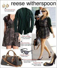 how to dress like Reese Witherspoon...very nice to know.