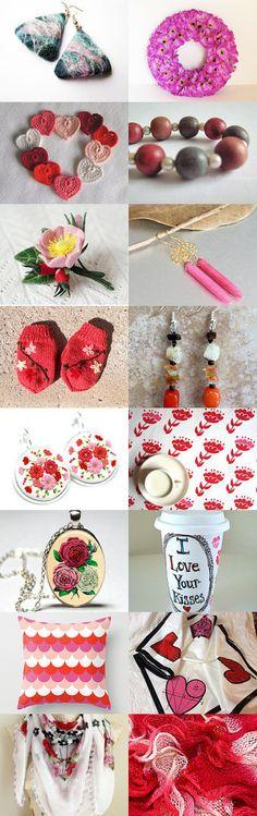 Pretty, Stylish Gifts by Gabbie on Etsy #etsy #treasury #pink #red