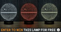 You too could win one of these exclusive 3D Illusion lamps by submitting your entry. Visit this page to learn more.