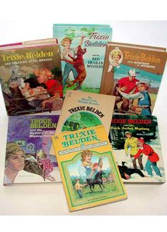 Trixie Belden Books-loved these all and still have them
