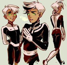 I like this interpretation of his hair