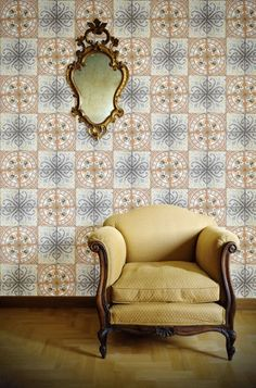 Paper Tiles from Louise Body available at walnut wallpaper #wallpaper