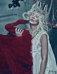 Kate Moss shot by Steven Klein.