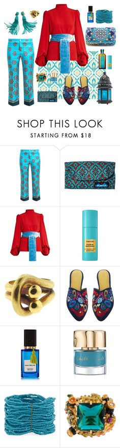 """""""Oriental fairy tale"""" by valya-strelc ❤ liked on Polyvore featuring F.R.S For Restless Sleepers, Kavu, Hillier Bartley, John Lewis, Zolotas, Zyne, Diana Vreeland Parfums, Smith & Cult, Berry and Les Néréides"""