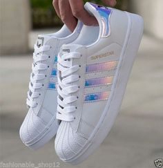 New-Womens-Fashion-Leather-Casual-Lace-Up-Sneakers-Trainer-Shoes-Superstar
