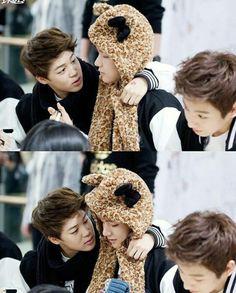 Baby VMin and Jungkook