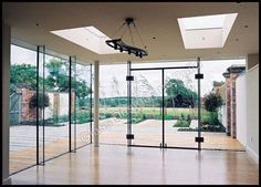glass extension with decking Glass Roof Extension, Image Glass, Glass Boxes, Modern Glass, Glass Design, House Design, Interior Design, Architecture, Windows