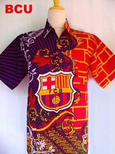 Barca Soccer Club Batik