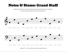 Music Theory Worksheets Printable With Answer Keys