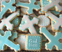 Like this set of cookies for a christening