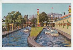 Palisades Amusement Park NJ   Palisades Amusement Park New Jersey boat ride