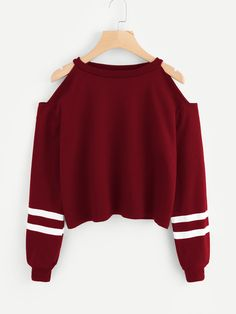 Women Off Shoulder Long Sleeve Sweatshirt Pullover Casual Comfort Solid Color Ropa Mujer Tops… - teen fashion Teen Fashion Outfits, Mode Outfits, Outfits For Teens, Girl Outfits, Clothes For Tweens, Cool Clothes, Womens Fashion, Clothes 2019, Fashion Shirts