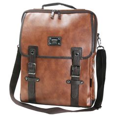 Leather Laptop Backpack for Men College Rucksack HERZ 727 (1 ...