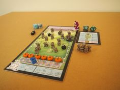"PnP Game: Jasper and Zot.    Now, this is what we call a ""pimped"" game!!! Looks fab!!!    http://boardgamegeek.com/boardgame/89912/jasper-and-zot"