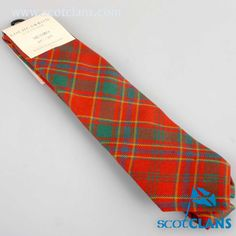 Munro Tartan Tie. Free worldwide shipping available