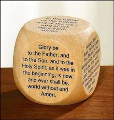 My Favorite Prayers Wooden Wood Prayer Cube for New Catholic Adults or Children Christian Brands http://smile.amazon.com/dp/B00IMKY286/ref=cm_sw_r_pi_dp_UM5cxb1P1N8Z4