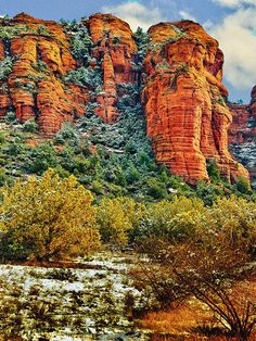 Countryside of Sedona, Arizona, an incredibly beautiful place and nice little town.  by Nadine and Bob Johnston