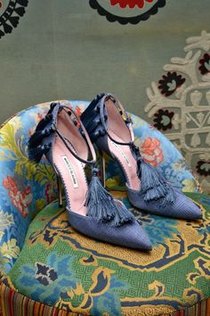 Footwear Trends Spring 2014 | Manolo Blahnik Shoes 2014 - Spring/Summer Shoes 2014 Collection ...