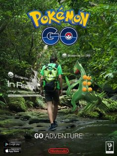 #Pokemon Go Promo Poster - Go Adventure Pokemon Go Promo Poster - Go Adventure from the official artwork set for #Pokemon Go on iOS and Android. #PokemonGo http://www.pokemondungeon.com/pokemon-go