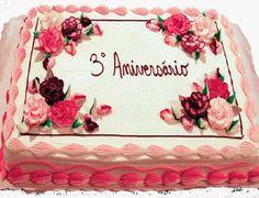 bolo de aniversário década 90