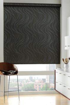 Hunter Douglas Designer Roller Shades PowerRise® 2.0 with Platinum™ Technology