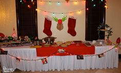 Fun ideas to use at your next Christmas Vacation party. Complete with Moose Mugs, Cousin Eddie's RV, Cat food jello Tacky Christmas Party, Christmas Movie Night, Christmas Party Decorations, Xmas Party, Redneck Christmas, Christmas Ideas, Christmas Crafts, Merry Christmas, Chevy Chase Christmas Vacation