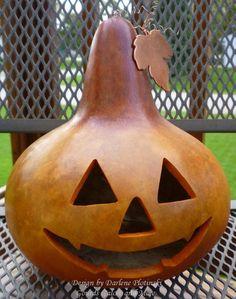 Jack O' Lantern Gourd