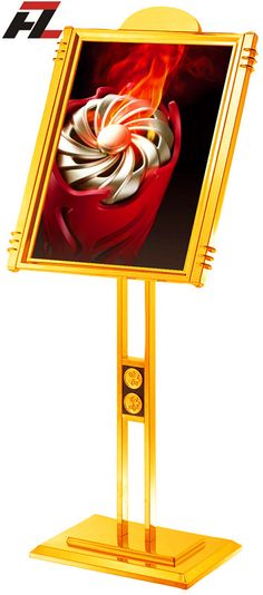 High Quality Stainless Steel Poster Stand -Display Stands