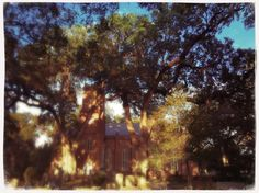 Mark lens / Dreamy film    @ Grace Episcopal Church and Cemetery
