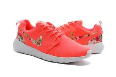 #womens #running #shoes Unisex Shoes Nike Roshe Run Hot Punch Floral Nike logo