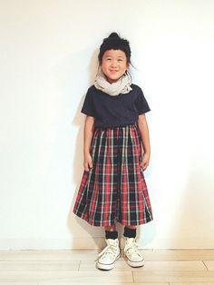 ついにゴッドハンドメイドと名付けさせてもらってるyuuu&chiiママのAWバージョンスカートが到着