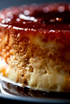 A Good Appetite: Melissa Clark creates silky perfection with a the recipe for Caramel Rice Flan. The solid yet creamy, caramel rice flan can sliced and served in wedges, topped. Desserts Thermomix, Just Desserts, Dessert Recipes, Souffle Dish, Gelatine, Rice Dishes, Trifle, Sweet Tooth, Sweet Treats