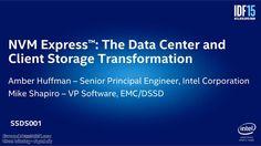 #NVMExpress - Data Center and Client Storage Transformation