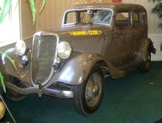 What Model Car Did Bonnie And Clyde Drive