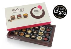 Chocolate Desserts Collection, 18 Chocolates, 230g available at LilyOBriens.ie