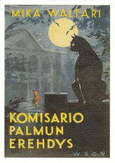 Mika Waltari  Famous Finnish author, recommended by Burton of HIM