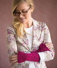 Café Cables #Mitts - from the Spring 2015 Issue of Love of #Knitting magazine