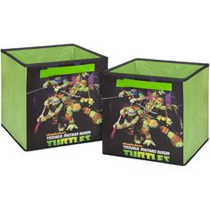 Nickelodeon Teenage Mutant Ninja Turtle Storage Cubes - Walmart.com