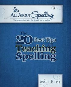 The 20 Best Tips for Teaching Spelling ebook