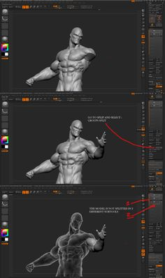 Cuts and key in zbrush 4r4