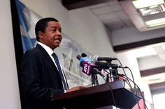 Kenya Revenue Authority Commissioner General John Njiraini addresses participants during customs progressive engagement on International Customs Day on January 26, 2016 in Nairobi.  The taxman  has put in place fresh measures aimed at curbing tax evasion at entry points. PHOTO   JAMES EKWAM   NATION MEDIA GROUP