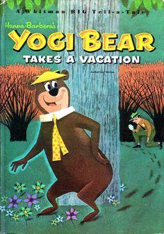 Yogi Bear vintage Whitman children's book