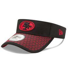 San Francisco 49ers New Era 2017 Sideline Official Visor - Black