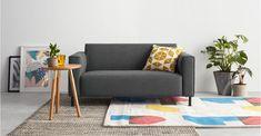 MADE Essentials Herron 2-Sitzer Sofa, Marlgrau ► Neues Design für dein Zuhause! Entdecke jetzt Sofas und Sessel in vielen Styles bei MADE.