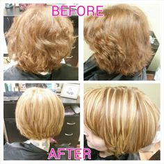 Fullhighlight, haircut, & keratin treatment done by myself, Rebecca Gonzalez @ Simply Chic Beauty Salon in  Lowell,MA